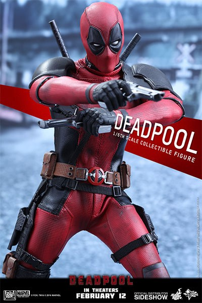 Deadpool Movie Masterpiece Actionfigur 1/6 Deadpool 31 cm
