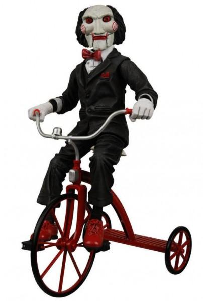 Saw Actionfigur mit Sound Billy mit Dreirad 30 cm
