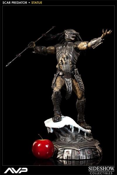 Alien vs. Predator Scar Predator Statue 1/5 49 cm