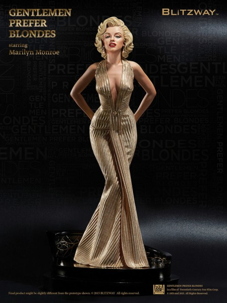 Marilyn Monroe 1/4 Superb Scale Hybrid Statue Marilyn Monroe 45 cm