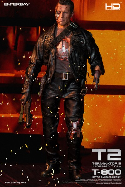 Terminator 2 HD Masterpiece Actionfigur 1/4 T-800 Battle Damaged