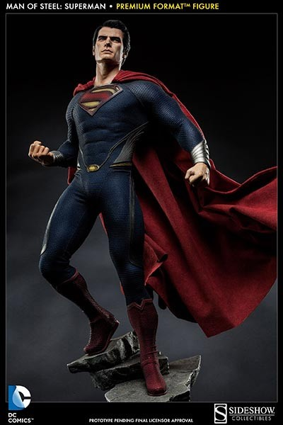 Man of Steel Premium Format Figur 1/4 Superman 55 cm