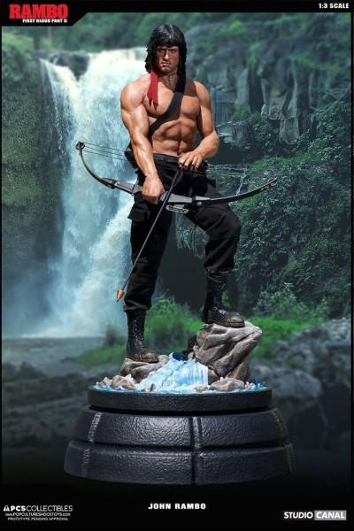 Rambo II Der Auftrag Mixed Media Statue 1/3 John Rambo 84 cm