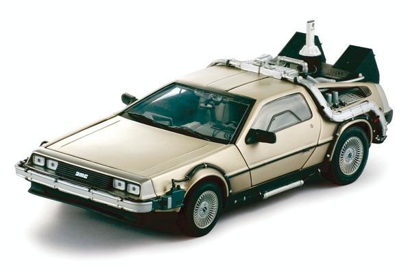 Zurueck in die Zukunft II Diecast Modell 1/18 83er DeLorean LK Coupe