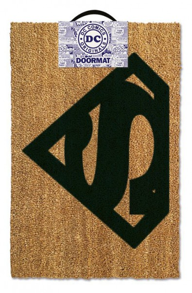 DC Comics Fußmatte Superman Logo 40 x 60 cm