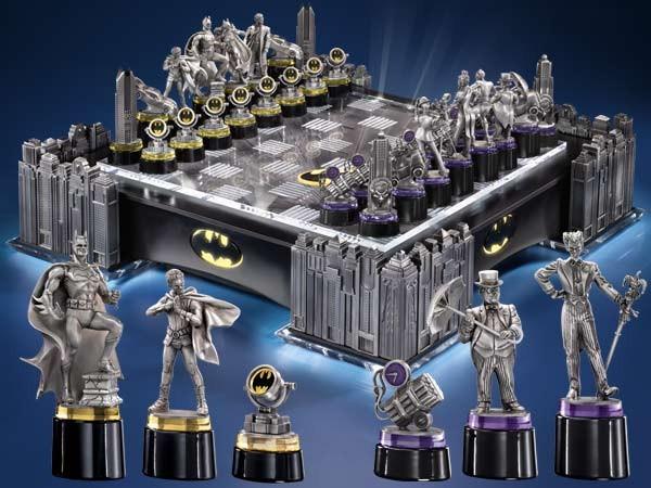 Batman The Dark Knight Rises Schach Set