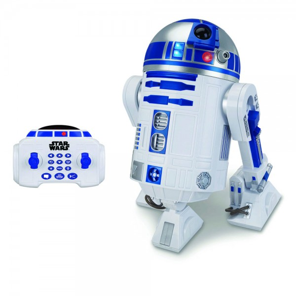 Star Wars Episode VII R2-D2 RC Fahrzeug mit Sound und Leuchtfunktion Interaktiver R2-D2 45 cm