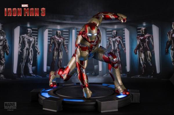 Iron Man 3 Statue 1/4 Iron Man Mark XLII Legacy 38 cm
