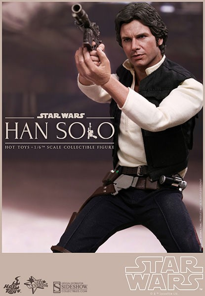 Star Wars Movie Masterpiece Actionfigur 1/6 Han Solo 30 cm