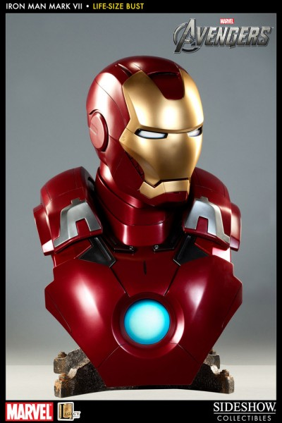 The Avengers Büste 1/1 Iron Man Mark VII 61 cm