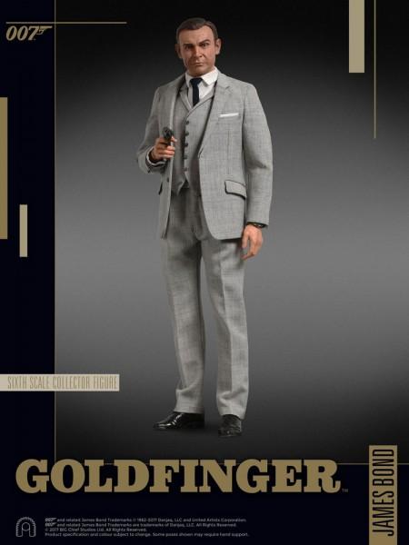 James Bond Goldfinger Collector Figure Series Actionfigur 1/6 James Bond (Grey Suit) 30 cm