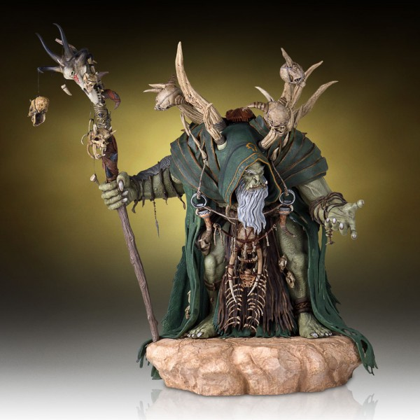 Warcraft The Beginning Statue Gul'Dan 46 cm