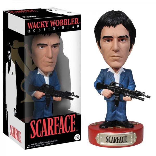 Scarface Wacky Wobbler Wackelkopf-Figur Tony Montana 18 cm