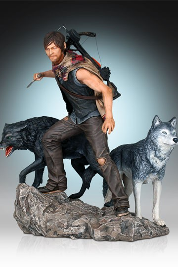 The Walking Dead Statue 1/8 Daryl & the Wolves 26 cm