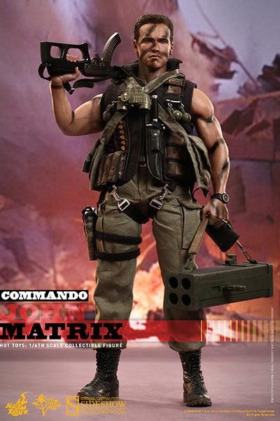 Phantom Commando: John Matrix Sixth Scale Figure
