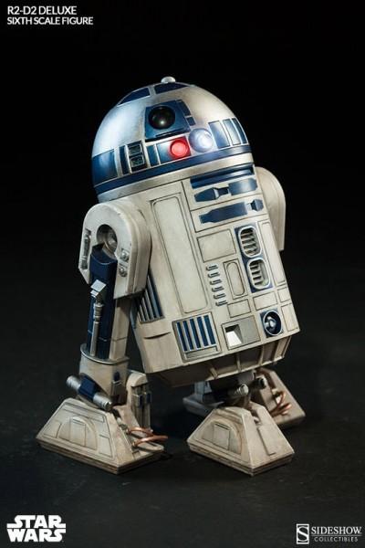 Star Wars Actionfigur 1/6 R2-D2 17 cm