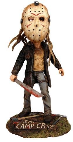 Freitag der 13. 2009 Wackelkopf-Figur Jason Vorhees Extreme Head Knocker 21 cm
