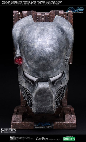 Alien vs. Predator Replik 1/1 Pyramid Guard Maske