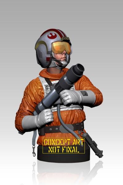 Star Wars Büste 1/6 Luke Skywalker Snowspeeder Pilot 18 cm