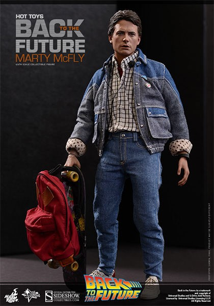 Back to the Future: Marty McFly Movie Masterpiece 1:6 Scale Figure 28 cm