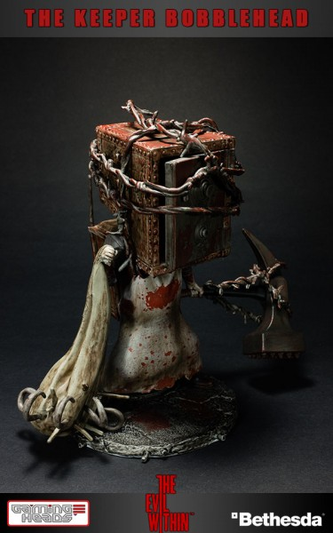 The Evil Within Wackelkopf-Figur The Keeper 15 cm