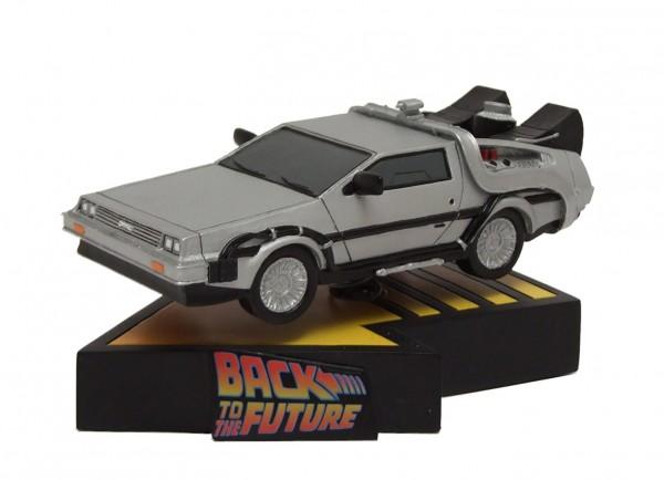 Zurück in die Zukunft II Shakems Wackelfigur Flying DeLorean 18 x 13 cm