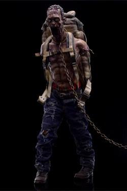 The Walking Dead Actionfigur 1/6 Michonne´s Pet Zombie 2 30 cm