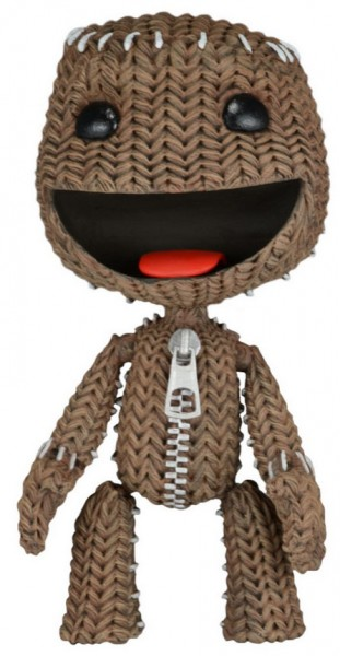 LittleBigPlanet Sackboy Happy Actionfiguren 13 cm Classic Serie 1