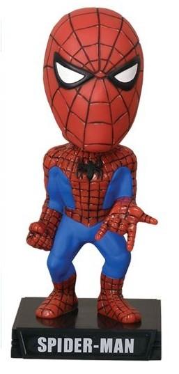 Marvel Comics Wacky Wobbler Wackelkopf-Figur Spider-Man 18 cm