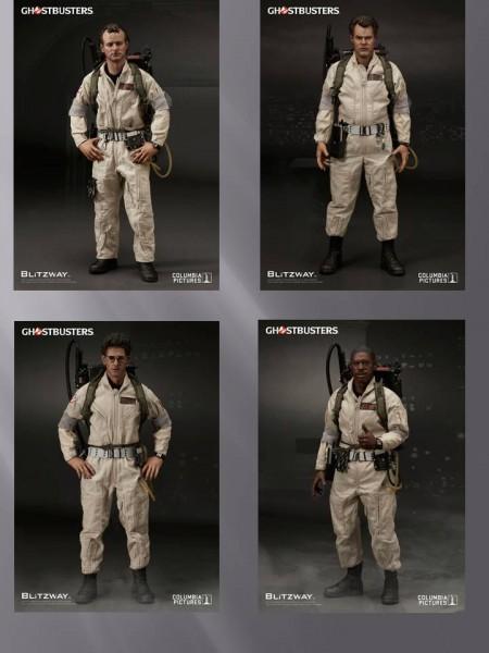 4er Set Ghostbusters Premium UMS Actionfiguren 1/6 bestehend aus den einzelnen Figuren: Venkman, Sta