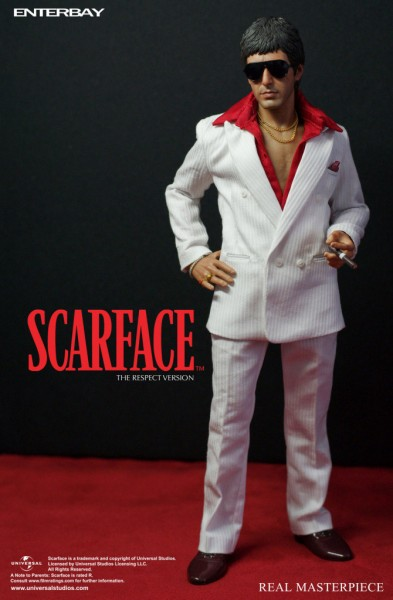 Scarface Real Masterpiece Actionfigur 1/6 The Respect Version 30 cm