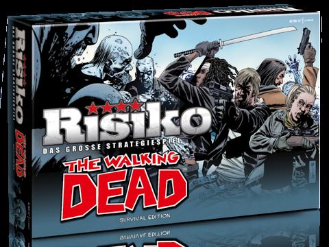 The Walking Dead Brettspiel Risiko