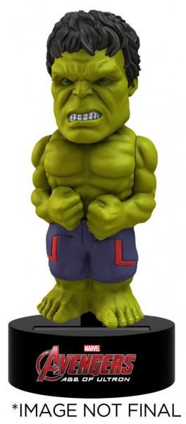 Avengers Age of Ultron Body Knocker Wackelfigur Hulk 15 cm