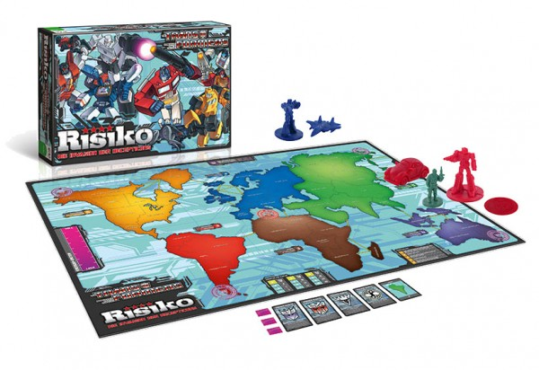 Transformers Brettspiel Risiko *Deutsche Version*