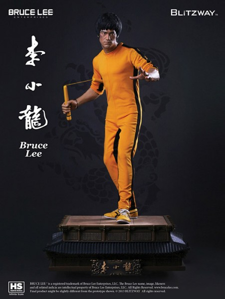 Bruce Lee 1/3 Infinite Scale Hybrid Statue 40th Anniversary Tribute 71 cm