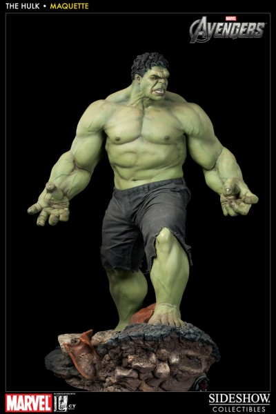 The Avengers Maquette 1/4 Hulk 65 cm