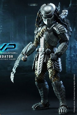 Alien vs. Predator Movie Masterpiece Actionfigur 1/6 Scar Predator 36 cm
