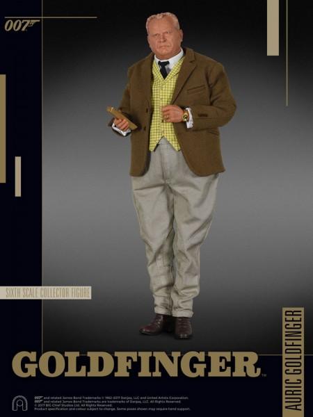 James Bond Goldfinger Collector Figure Series Actionfigur 1/6 Auric Goldfinger 30 cm