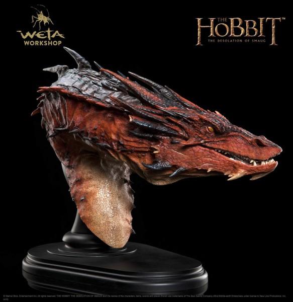 Der Hobbit Smaugs Einöde Büste Smaug 36 cm